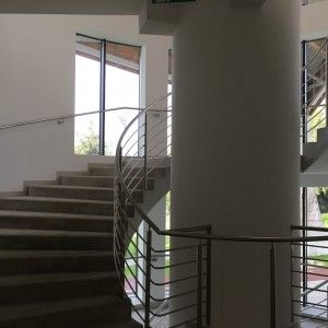 INWEST BAU Hala Sportowa schody